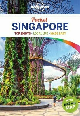 NEW Singapore By Lonely Planet Travel Guide Paperback Free Shipping