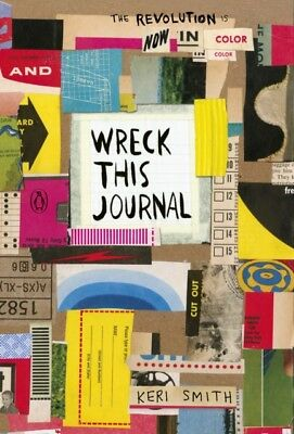 WRECK THIS JOURNAL NOW IN COLOUR, Smith, Keri, 9781846149504