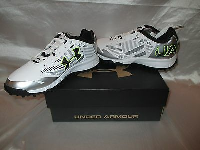 Under Armour Finisher Turf Women's Lacrosse Shoes Sz 8.5 Cleats NEW