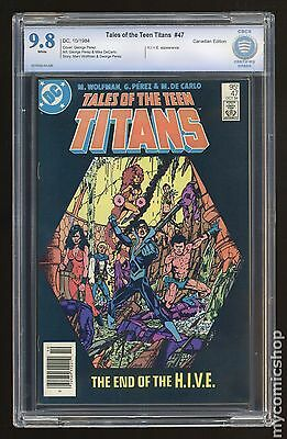 New Teen Titans (1980) (Tales of ...) Canadian Price Variant #47 CBCS 9.8