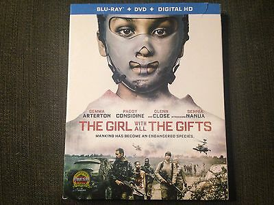 The Girl With All the Gifts Blu-ray/NO DVD'S, 2017