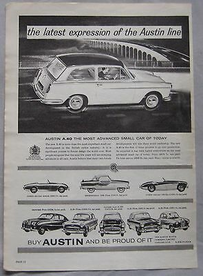 Austin Cars Original advert
