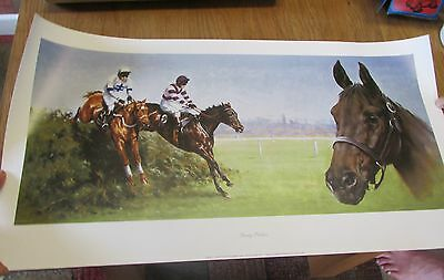 Party Politics. Horse racing print by Graham Isom.