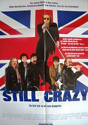 Brian Gibson + Still Crazy + Stephen Rea + German 1-Sh +