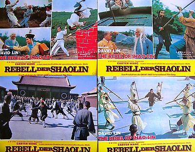 Martial Arts + The Rebel Of Shao-Lin + Carter Wang + 5 Lc's + Ger +