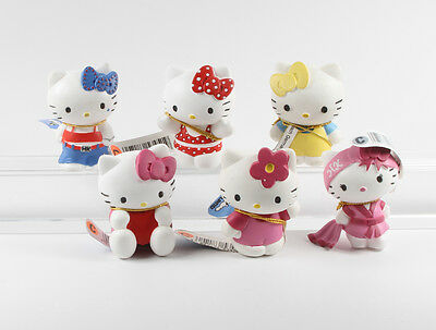 Hello Kitty === 6 x Figuren Bully Bullyland