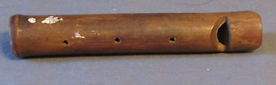 Vintage Wooden Hand Made Flute or Whistle