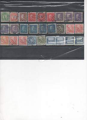 Sweden collection of used Stamps circa 1910-20