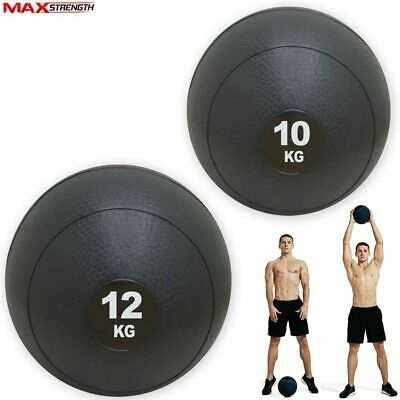 Slam Ball No Bounce Crossfit Workout Fitness Home Weight Lifting MMA Training