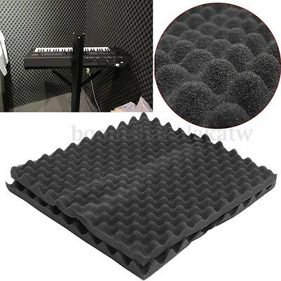 10XAcoustic Soundproofing Foam Studio Protection Wall Insulation 50 x 50 x 3.5cm