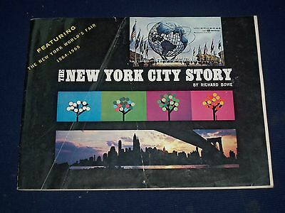 1964-1965 New York World's Fair Book By Bowe & 2 Fold Out Maps Lot Of 3 - J 1532