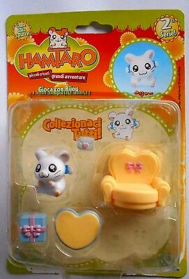 Hamtaro Personaggio Bijou Con Accessori Seconda Serie