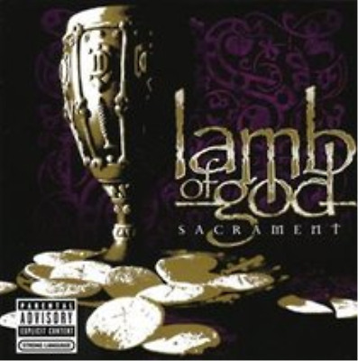 Lamb of God-Sacrament  (UK IMPORT)  CD NEW