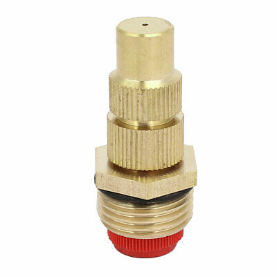 uxcell Fountain Nozzle Brass G1//2 Adjustable Jet Water Pond Spray Sprinkler Head 4Pcs