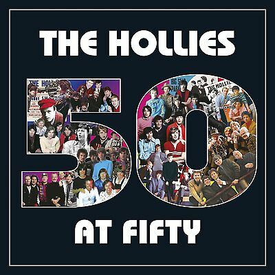 THE HOLLIES 50 AT FIFTY 3 CD ALBUM SET (Very Best Of) (2014)