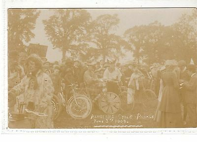 Buckinghamshire. Hanslope Cycle Parade. 5.6.1909.