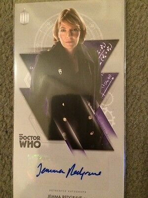 Jemma Redgrave Doctor Who Authentic Autograph Tops Card
