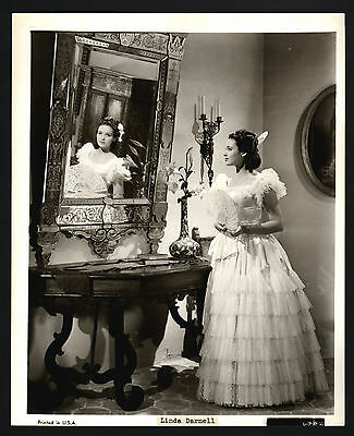 Linda Darnell, Schauspielerin, film actress, Pressefoto, press photo /120
