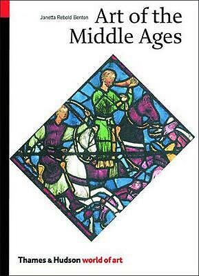 Art of the Middle Ages by Janetta Rebold Benton (English) Paperback Book Free Sh