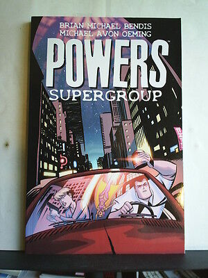 GRAPHIC NOVEL: POWERS - VOLUME 4: SUPERGROUP   Paperback 2015 1st