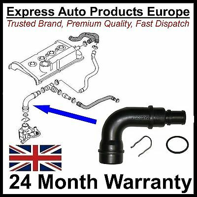 Breather Hose Tube VW Golf Mk4 1.8T 06A103213F + Clip & Seal