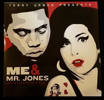 "Amy Winehouse & Nas "" Me & Mr. Jones "" New *** Coloured Vinyl Lp ***"