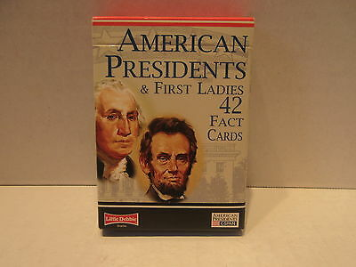 Little Debbie American Presidents and First Ladies 42 Fact Cards C-Span