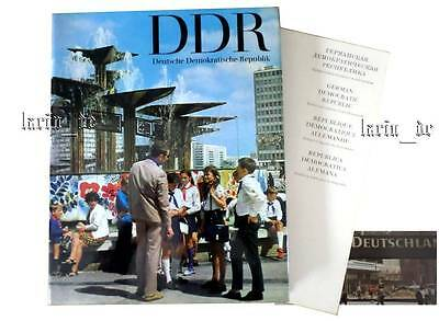 DDR Buch Bildband East german photo Picture book about the GDR english français.