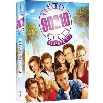 Beverly Hills 90210: 1990s TV Series Complete Seasons 1 2 3 Boxed DVD Set NEW!