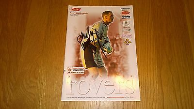 2004-05 Doncaster Rovers v Sheffield Wednesday - Autographed