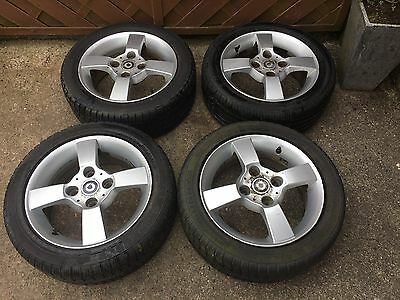 4 X Smart Fourfour Alloy Wheels with Tyres