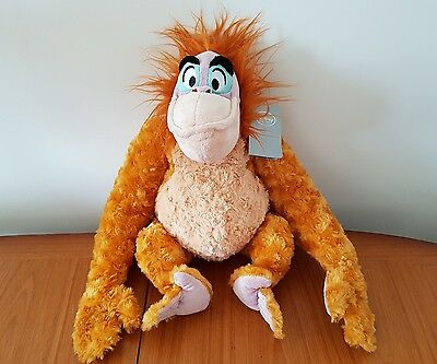 jungle book king louie with hugging arms with orginal with tags disney stamp