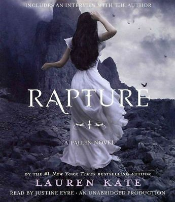 Rapture by Lauren Kate (English) Compact Disc Book Free Shipping!