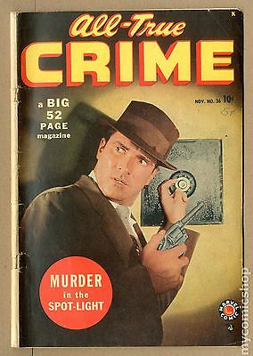 All True Crime (1948) #36 GD/VG 3.0