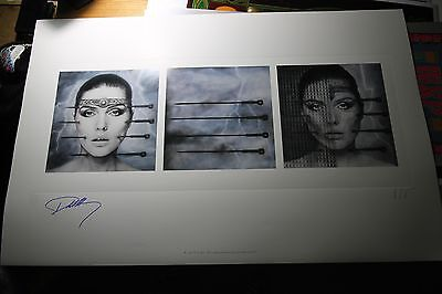 HR Giger Art Print KOO KOO Hand Signed Debbie Harry Blondie AP Ed Lithograph