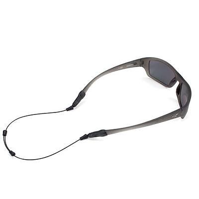 "Croakies ARC Endless Black 14"" XL/XXL Ends Sunglasses Sport Retainer NEW"
