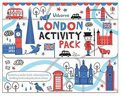 London Activity Pack (Usborne Carry Case) by Various | Paperback Book | 97814095