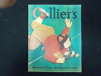 1940 Oct 12 Collier's Magazine - Great Illustrations, Articles & Ads - St 3662
