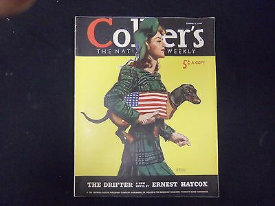 1940 Oct 5 Collier's Magazine - Great Illustrations, Articles & Ads - St 3661