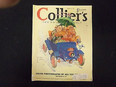 1940 Oct 19 Collier's Magazine - Great Illustrations, Articles & Ads - St 3663