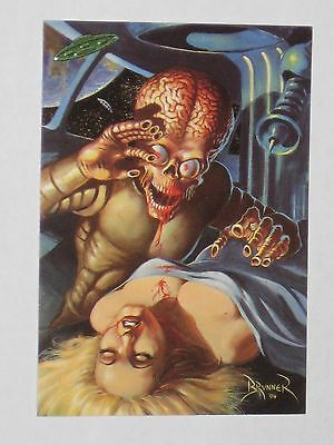 Topps Mars Attacks Trading Card 1994 Base Card NM #81 Mars Needs Women