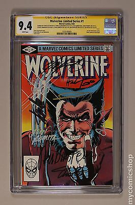 Wolverine (1982 Limited Series) #1 CGC 9.4 SS 1323100005