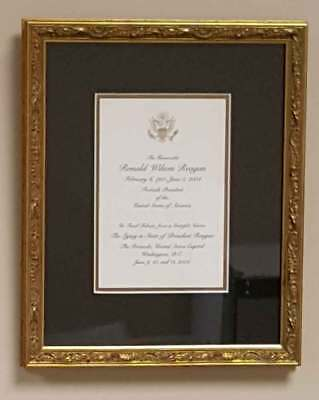 Ronald Reagan Funeral Lying In State Card 2004