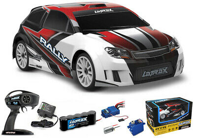Traxxas LaTrax 4WD 1/18 Rally Car RTR Red w/ AC Charger / NiMh Battery 75054-5