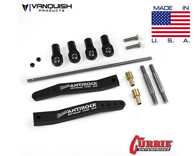 Vanquish VPS08300 CURRIE ANTIROCK YETI SWAY BAR V2 BLACK ANODIZED