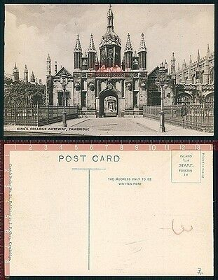 Orig. AK Cambridge England Kings College