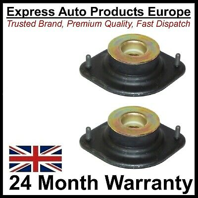 2 x Strut Top Mount & Bearing VW Golf Mk1 & Cabriolet & Caddy MK1 Pair