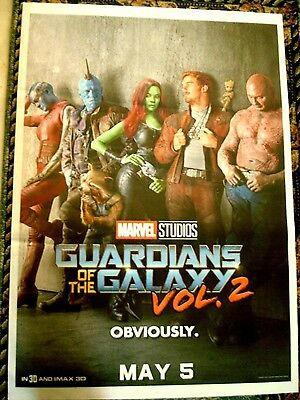 Guardians Of The Galaxy  Volume 2 Movie Poster