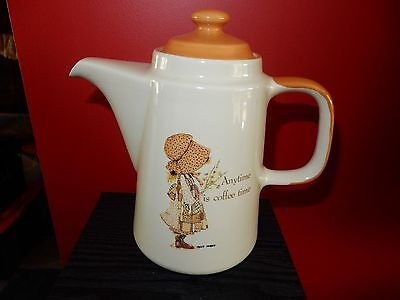 Vintage Holly Hobbie Country Living Coffee Pot