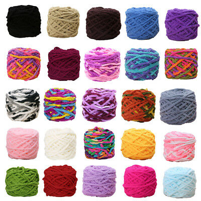 100g/1ball Soft Cotton Hand Knitting Yarn Chunky Woven Bulky Crochet Worested